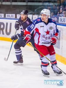 HC Slovan - CSKA Moscow ACT0493